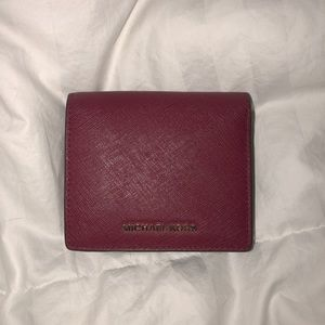 Red Michael Kors Wallet